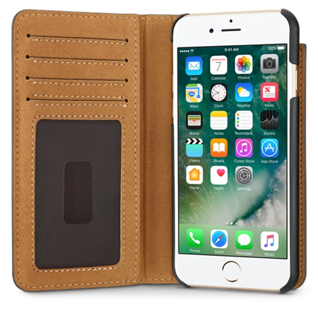low priced 762a0 44c08 Twelve South BookBook iPhone 6 Plus 6s Plus leather wallet case w' Stand  Brown