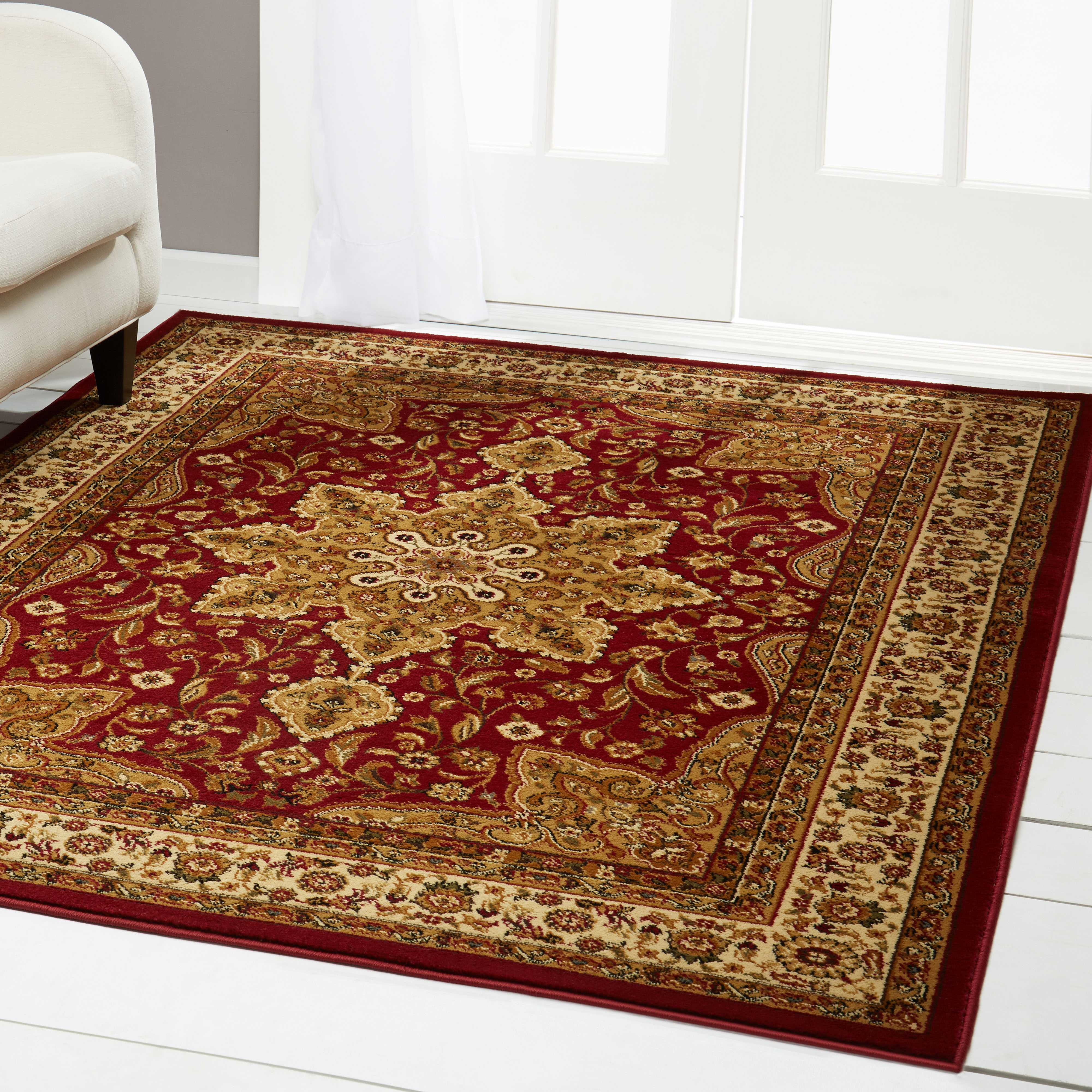 Click here to buy Home Dynamix Royalty Collection 8083-100 Area Rug by Home Dynamix.