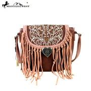 MW319-8287 Montana West Fringe Collection Messenger/Shoulder Bag