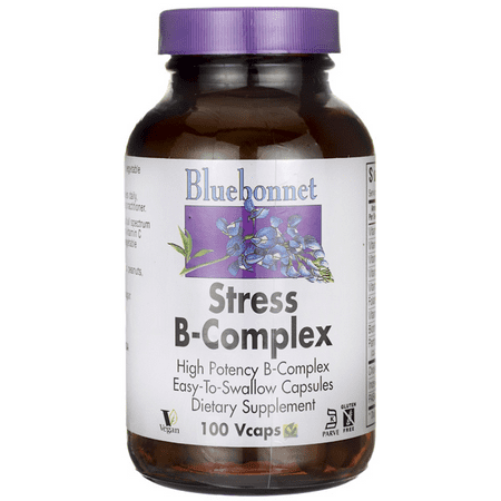 Bluebonnet Nutrition Stress B-Complex -- 100 Vegetable