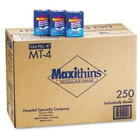 Hospeco 599-MT-4 C-Folded Maxithins Pads Folded Maxithins Pads