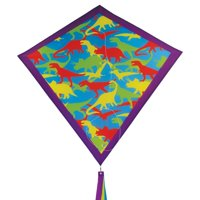 In the Breeze Dino Camo 30 Inch Diamond Kite - Fun, Easy Flying Camo Kite