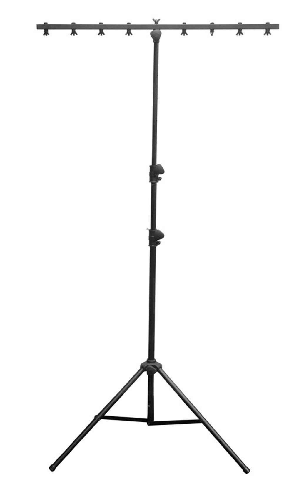 New! Chauvet DJ CH-06 Portable Lightweight Easy Setup T Bar Tripod Light Stand by