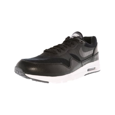 online retailer 17b2d 5cf9d Nike Women s Air Max 1 Ultra Essentials Black   - White Ankle-High ...
