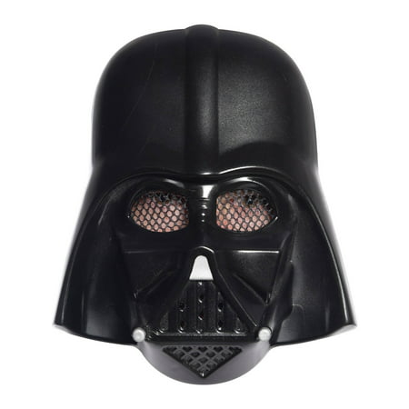 Star Wars Classic Ben Cooper Adult Darth Vader Mask Halloween Costume Accessory - Darth Vader Costume Pieces