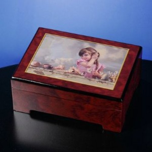 ByerleySound of the Ocean Music Box by The San Francisco Music Box Company
