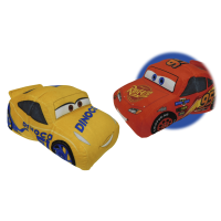 Flipazoo Disney Pixar Cars 3 Lightning McQueen 2 in 1 Plush