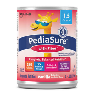 PediaSure 1.5 with Fiber, 8 oz. Can, Vanilla, Institional - 1 Can