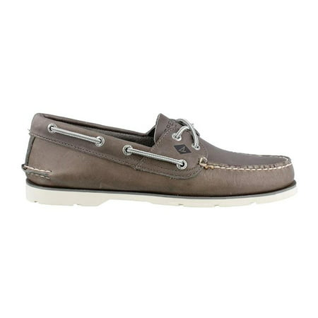 - Sperry Top-Sider Leeward 2 Eye Mens Grey Boat Shoes