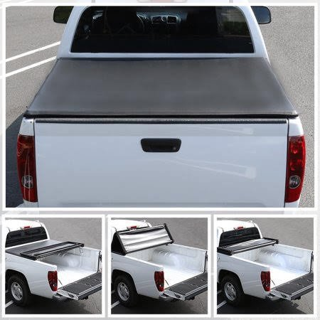 Ford F150 Tonneau - Spec-D Tuning 1997-2003 Ford F150 Styleside 6.5Ft Short Bed Tri-Fold Tonneau Cover 97 98 99 00 01 02 03