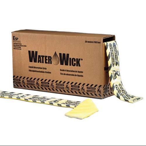 EVOLUTION SORBENT PRODUCTS Absorbent Pad,Heavy Weight,Yellw,17 gal., WWK