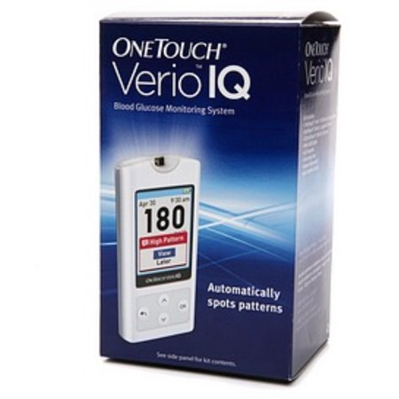 - OneTouch VerioIQ Blood Glucose Monitoring System 1 Each (Pack of 4)