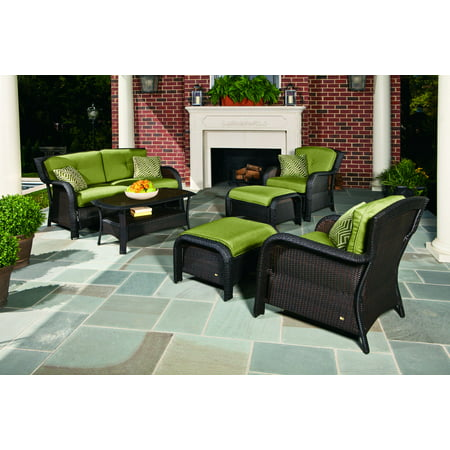 6-Piece Outdoor Woven Lounge Set ()