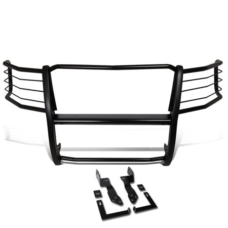 For 2011 to 2014 Chevy Silverado 2500HD / 3500HD Mild Steel Front Bumper Headlight / Grille Brush Guard 12