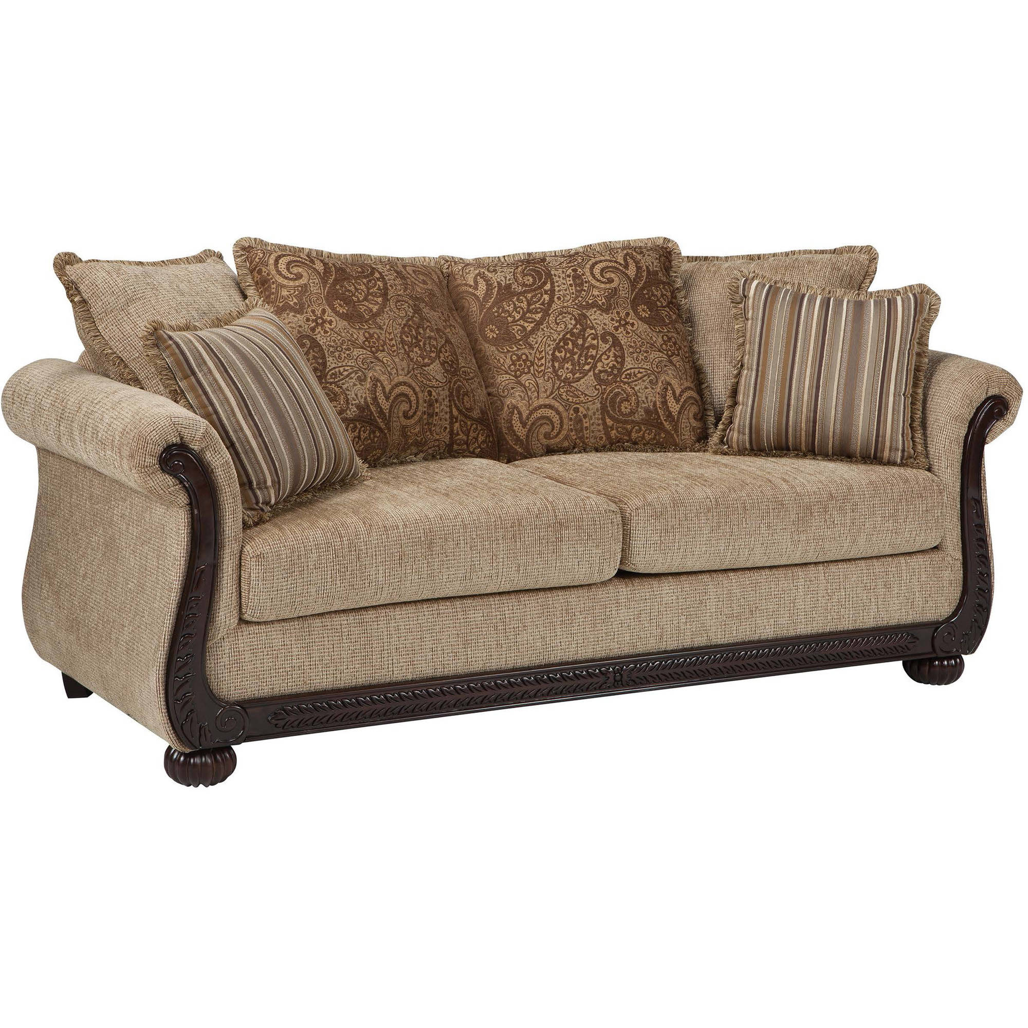 Coaster Company Beasley Sofa, Brown Chenille