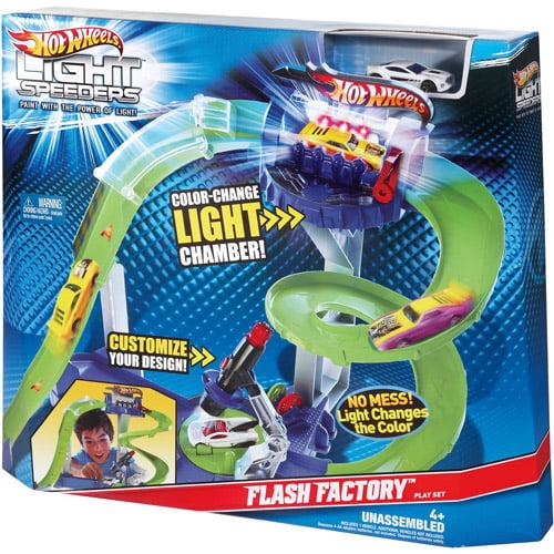 Hot Wheels Light Speeders Track