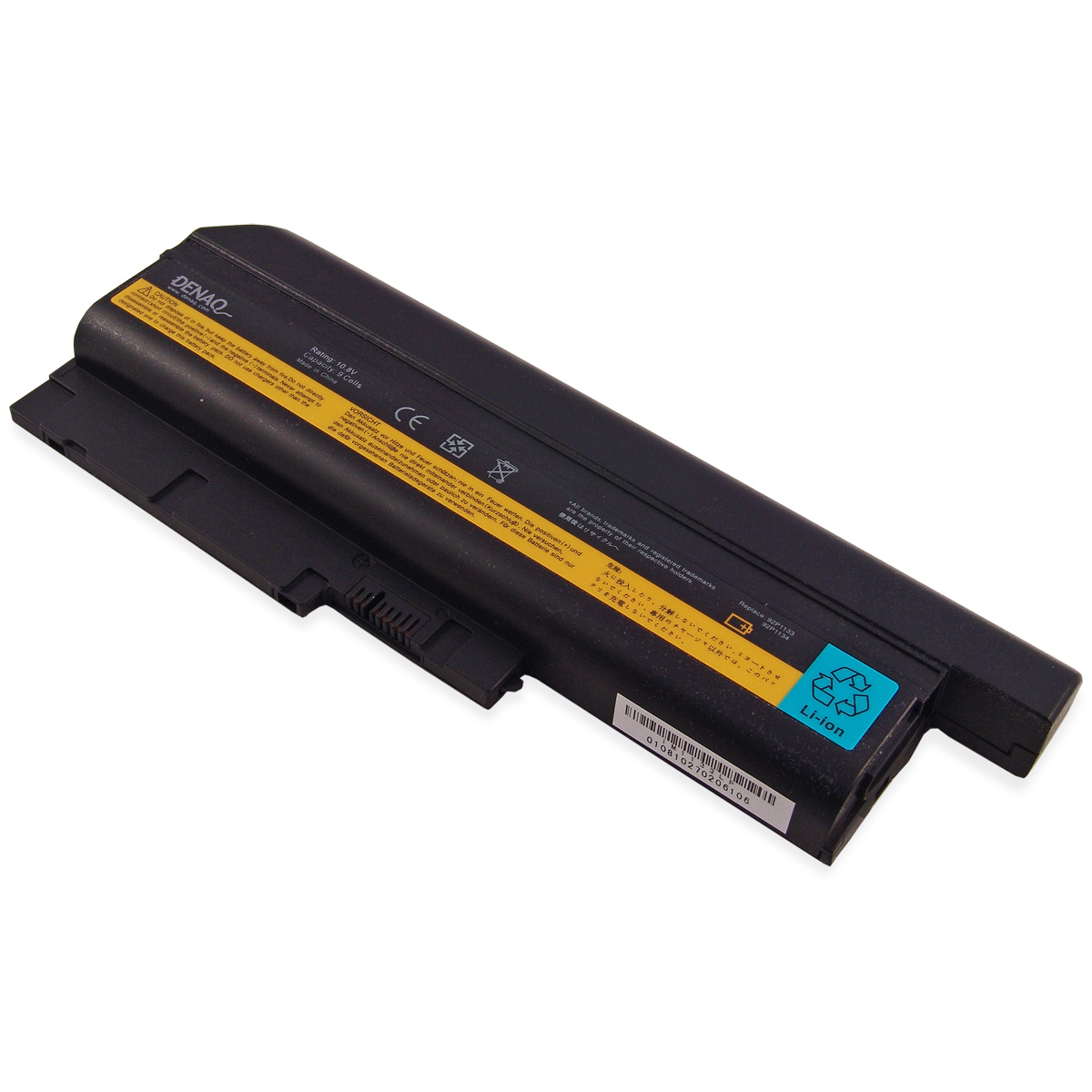 DENAQ 40Y6797-99-Cell 85Whr Li-Ion Laptop Battery for IBM...
