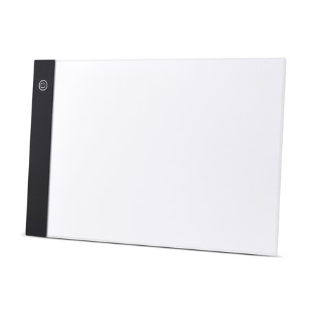 A4 Size Ultra-thin LED Light Pad Box Painting Tracing Panel Copyboard USB Powered Stepless Adjustable Brightness for Cartoon Tattoo Tracing Pencil Drawing X-Ray Viewing - Tattoo Drawings In Pencil