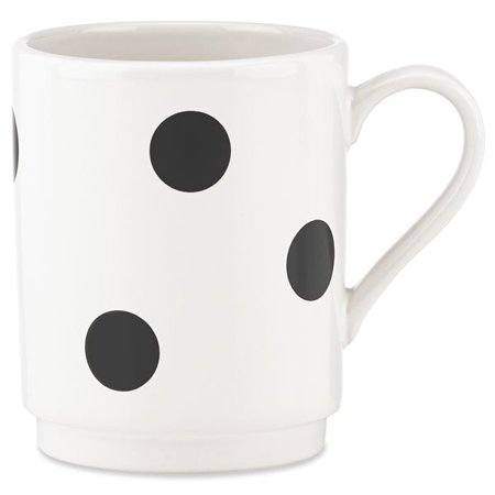 kate spade new york kitchen Deco Dot 12 Ounce Coffee Mug