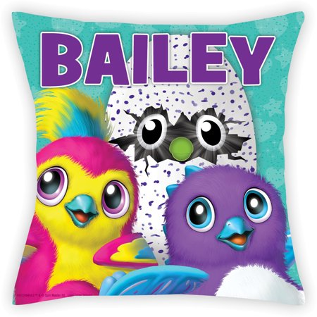 Personalized Hatchimals Throw Pillow for Kids](Personalized Kids)