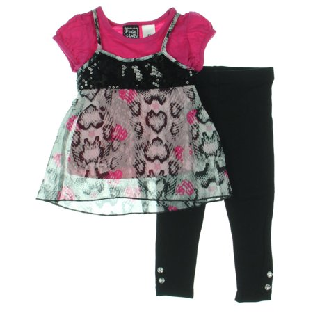 Pogo Club 3Pc Toddler Pant Outfit