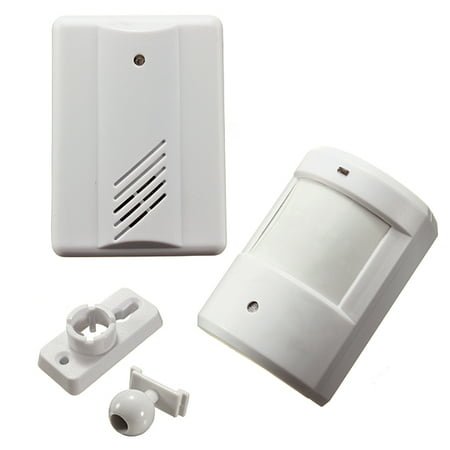 - Driveway Patrol Garage Infrared Motion Sensor Alarm Infrared Wireless Alert Secure System Detector