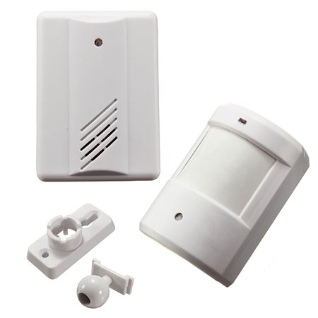 Driveway Patrol Garage Infrared Motion Sensor Alarm Infrared Wireless Alert Secure System Detector
