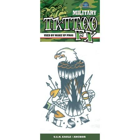 Tattoo - Usn Eagle Anchor