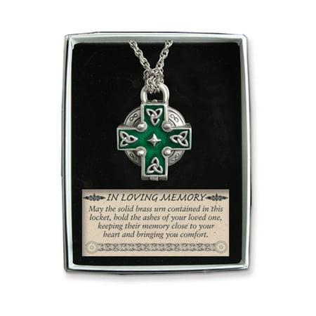 Celtic Memorial Locket -
