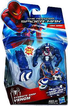 """The Amazing Spider-Man Comic Series Symbiote Snap Venom 3.75"""" Action Figure by"""