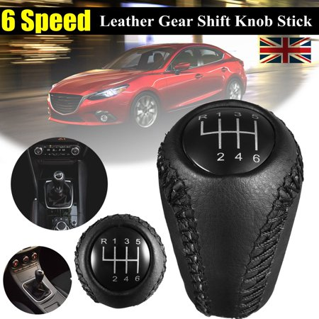 6 Speed Gear Shift Knob Stick Shifter Manual Transmission For MAZDA 3(BK BL) 5(CR CW) 6(II GH) MX-5(NC III) 6 Speed Transmission Gear Set
