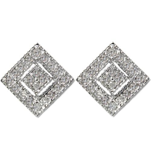 1/3ct Diamond Stud Earrings White Gold 14K