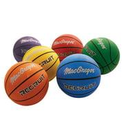 MacGregor Recruit 22 in. Indoor/Outdoor Basketball, Set of 6