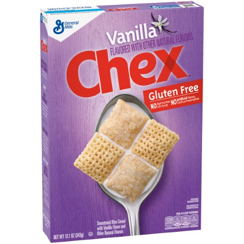 Chex Cereal, Vanilla (Pack of 16)