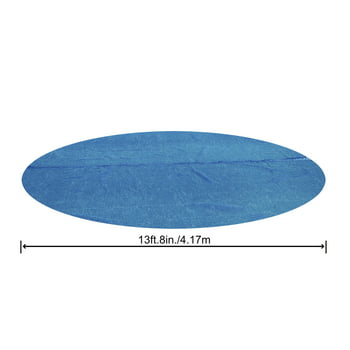 Bestway 14Ft Round Above Ground Swimming Pool Solar Heat Cover Blanket