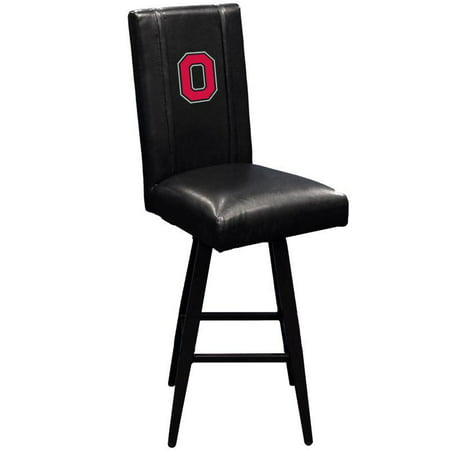 Ohio State University Collegiate Bar Stool Swivel 2000 with Buckeyes Block O logo ()