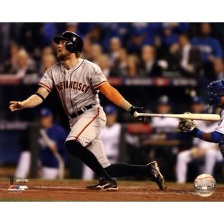 1989 World Series Game - Hunter Pence Home Run Game 1 of the 2014 World Series Sports Photo