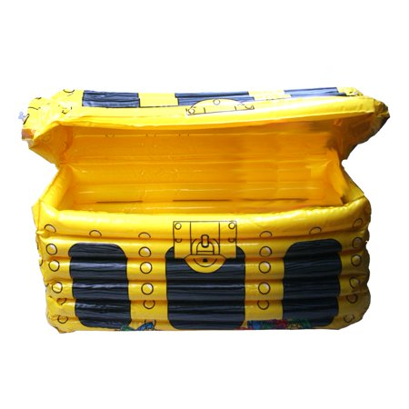 Inflatable Treasure Chest Cooler - Treasure Chest Inflatable Cooler