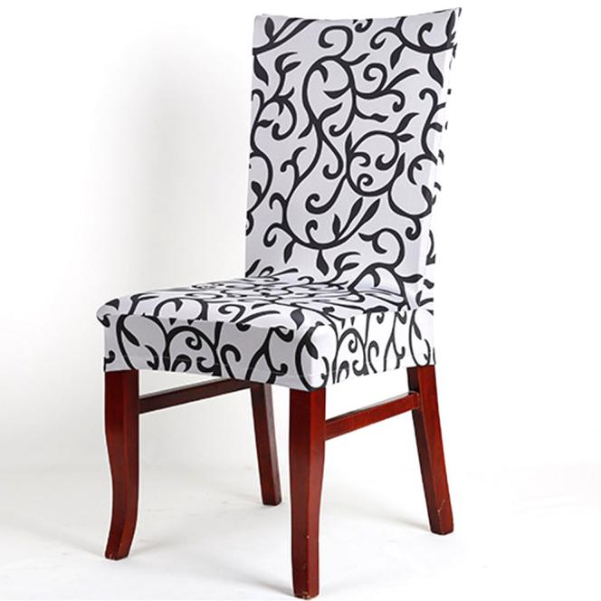 1PC Banquet Slipcovers Dining Room Wedding Party Short Chair Covers BG
