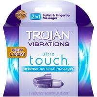 Trojan Vibrations Vibrating Fingertip Personal Massager