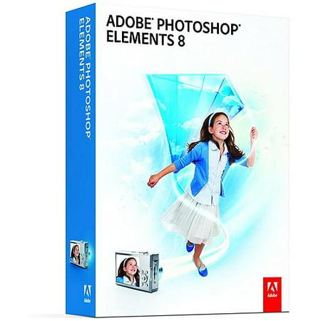 adobe photoshop 8_Adobe Photoshop Elements 8 - Walmart.com