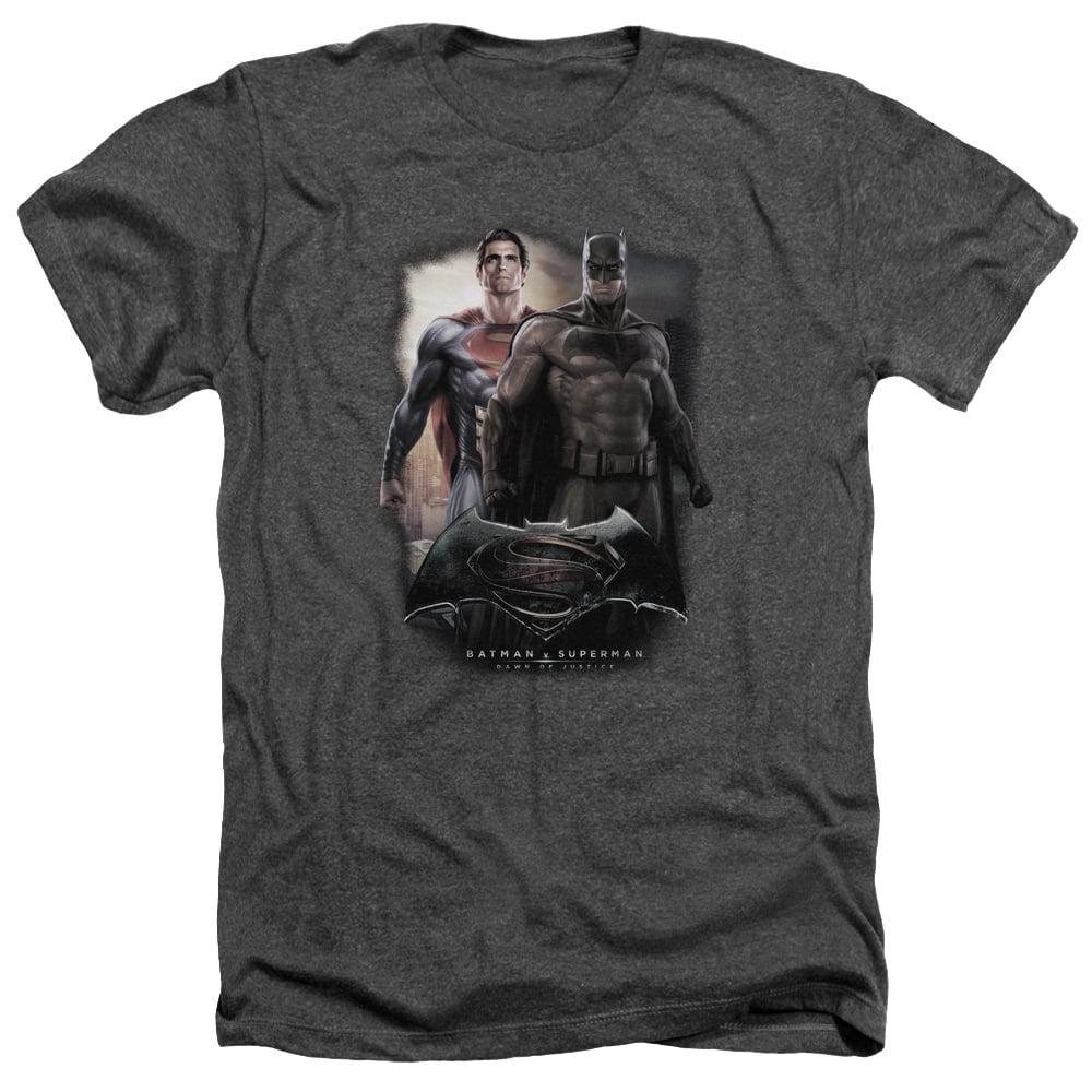 Batman Vs Superman Dawn Mens Heather Shirt