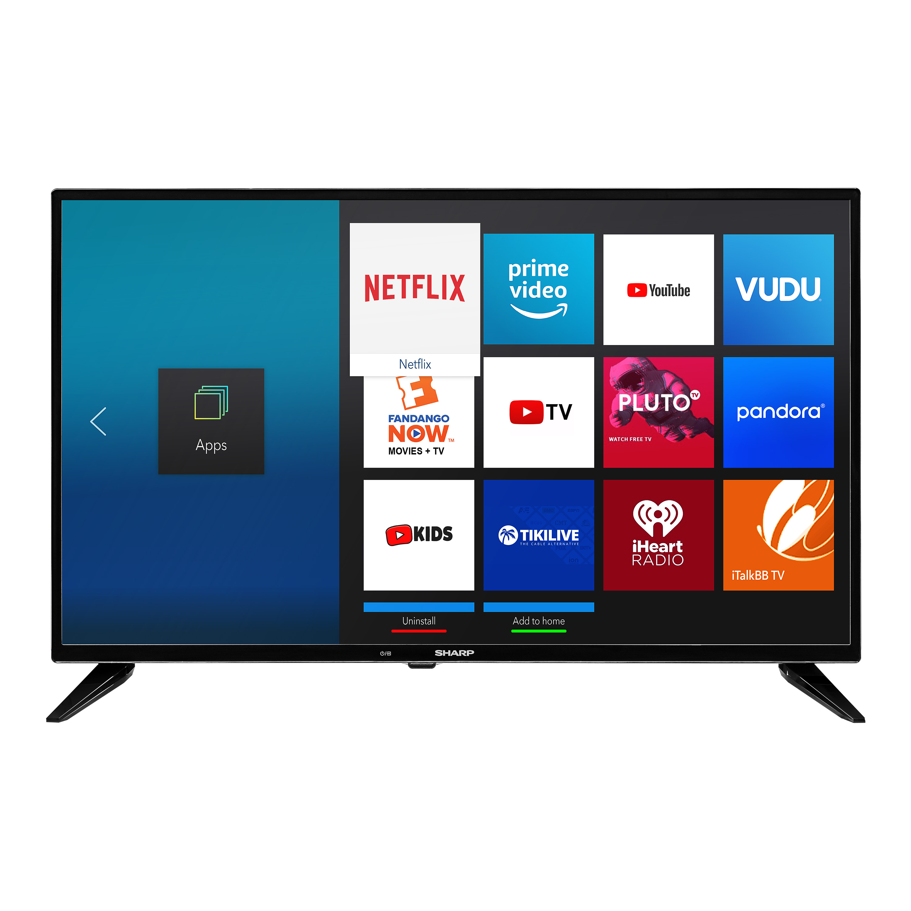"Sharp 32"" Class HD (720p) Smart LED TV (LC-32Q5230U)"