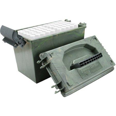 Rem 870 12 Ga (MTM SHOTSHELL DRY BOX 12 GA 100RD POLY GREEN WILD CAMO )