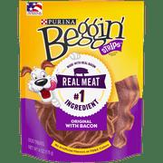 Purina Beggin' Dog Treats; Strips Bacon Flavor (Various Sizes)