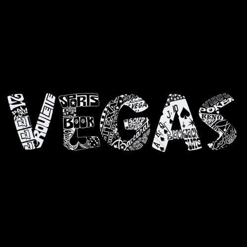 Women's Missy T-shirt - Vegas - Black - Large