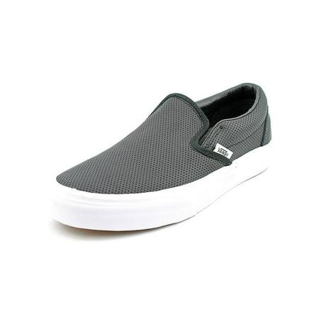 b82e6b6ae1 Vans - Vans Classic Slip-On Round Toe Canvas Skate Shoe - Walmart.com