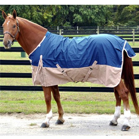 Pony Turnout Sheet (Free Runner FRS86RY 86 in. Turnout Rain Sheet, Royal Blue with Sand )