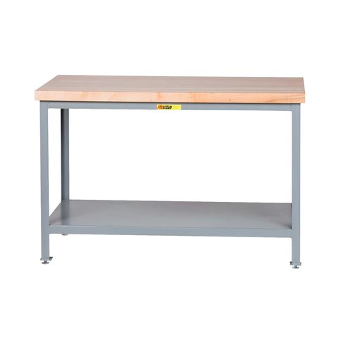 Little Giant USA Adjustable Height Butcher Block Top Workbench by Little Giant USA