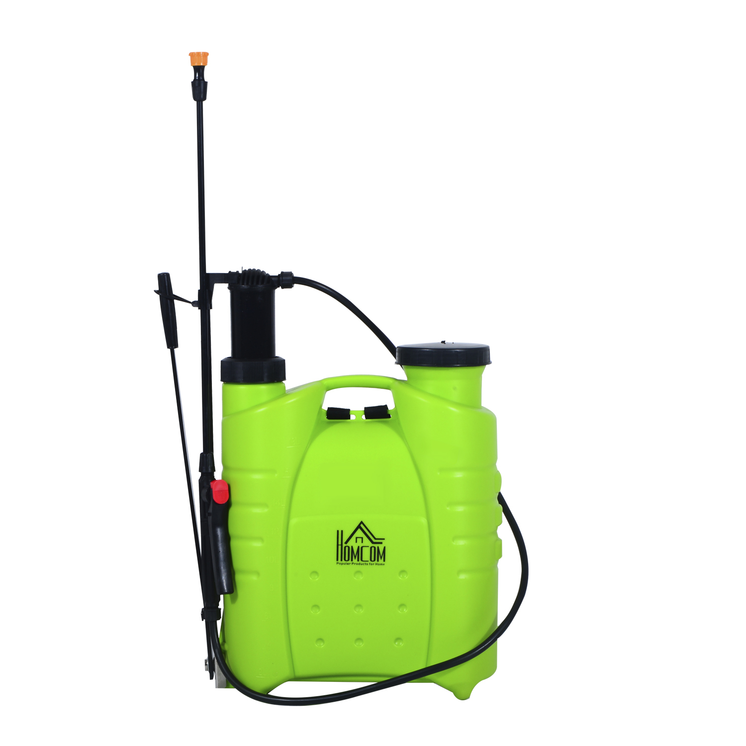 HomCom 4 Gallon Hand Pump Backpack Sprayer by Aosom LLC